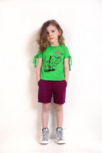 T-shirt vert gazon